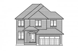 Devlyn - R6 European Manor Elevation - 2,259 sqft, 4 Bedroom, 2.5 Bathroom - Cardel Homes Ottawa