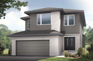 MONTAGE BSPS - Modern B3 Elevation - 2,031 sqft, 3 - 4 Bedroom, 2.5 Bathroom - Cardel Homes Ottawa