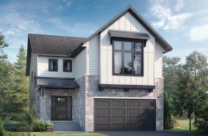 NORTH HAMPTON BSPS - Farmhouse B2 Elevation - 2,433 sqft, 3 - 4 Bedroom, 2.5 - 3.5 Bathroom - Cardel Homes Ottawa