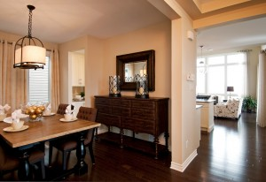 Berkshire 2 - A1 Canadiana Gallery - Berkshire 2 Dining Room  - 2,570 sqft, 4 Bedroom, 2.5 Bathroom - Cardel Homes Ottawa