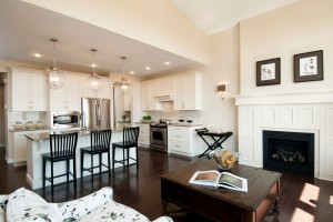 Berkshire 2 - A1 Canadiana Gallery - Berkshire 2 Great Room  - 2,570 sqft, 4 Bedroom, 2.5 Bathroom - Cardel Homes Ottawa