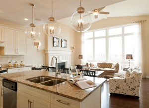 Berkshire 2 - A1 Canadiana Gallery - Berkshire 2 Kitchen  - 2,570 sqft, 4 Bedroom, 2.5 Bathroom - Cardel Homes Ottawa
