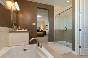 Berkshire 2 - A1 Canadiana Gallery - Berkshire 2 Master Bath 2  - 2,570 sqft, 4 Bedroom, 2.5 Bathroom - Cardel Homes Ottawa