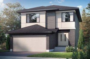 ChesapeakeA2-elevation Elevation - 2,110 sqft, 3 - 4 Bedroom, 2.5 Bathroom - Cardel Homes Ottawa