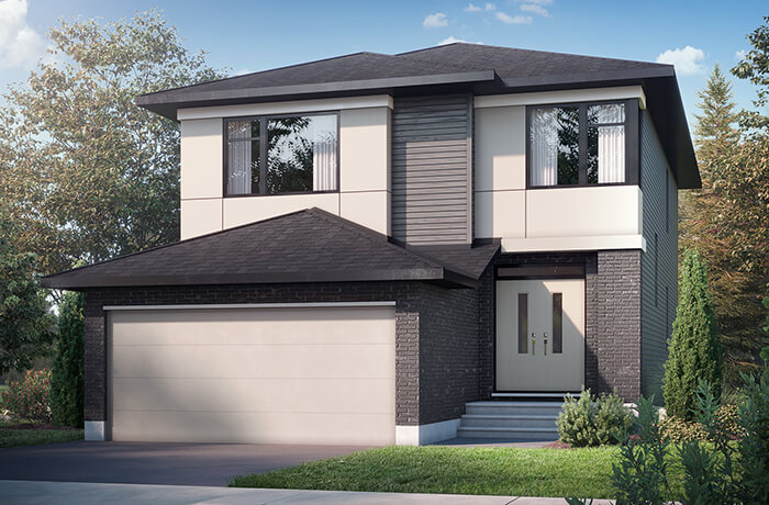 New home in <B></B>CHESAPEAKE in Blackstone in Kanata South, 2,110 SQFT, 3 - 4 Bedroom, 2.5 Bath, Starting at 721,000 - Cardel Homes Ottawa