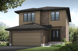 ChesapeakeA2-elevation Elevation - 2,110 sqft, 3 - 4 Bedroom, 2.5 Bathroom - Cardel Homes Ottawa