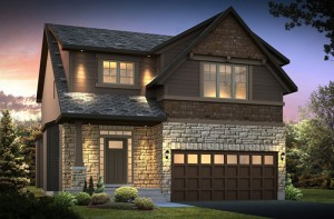 DevonshireA2-elevation Elevation - 2,212 sqft, 4 Bedroom, 2.5 Bathroom - Cardel Homes Ottawa