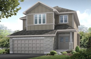 New home in MONTAGE in Blackstone in Kanata South, 2,020 SQ FT, 3 Bedroom, 2.5 Bath, Starting at 485,000 - Cardel Homes Ottawa