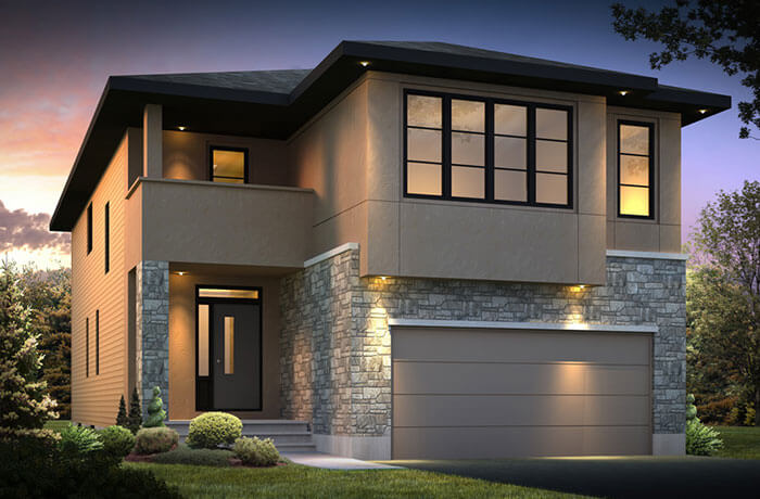 New home in NORTH HAMPTON in Blackstone in Kanata South, 2,413 SQFT, 3 Bedroom, 2.5 Bath, Starting at  - Cardel Homes Ottawa
