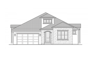 Romano - Elevation B Elevation - 2,274 sqft, 3 Bedroom, 2 Bathroom - Cardel Homes Denver