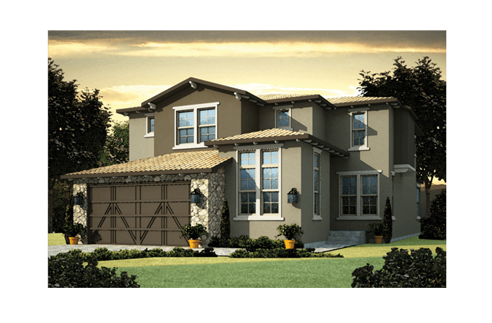 Casella - Elevation B Elevation - 2,459 sqft, 3 Bedroom, 2.5 Bathroom - Cardel Homes Denver