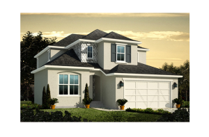 Ferrero - Elevation B Elevation - 2,327 sqft, 3 Bedroom, 2.5 Bathroom - Cardel Homes Denver