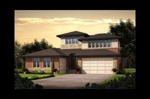Telluride - Prairie Elevation - 2,552 sqft, 3 Bedroom, 2.5 Bathroom - Cardel Homes Denver