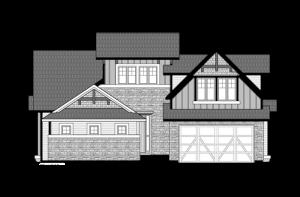 Telluride - Colorado Rustic Elevation - 2,552 sqft, 3 Bedroom, 2.5 Bathroom - Cardel Homes Denver