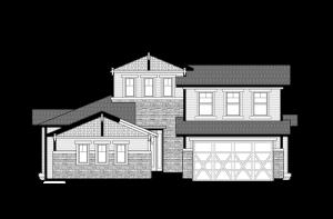 Telluride - Craftsman Elevation - 2,552 sqft, 3 Bedroom, 2.5 Bathroom - Cardel Homes Denver