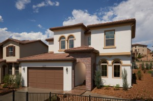 Ferrero - Elevation C Gallery - Ferrero Exterior  - 2,327 sqft, 3 Bedroom, 2.5 Bathroom - Cardel Homes Denver