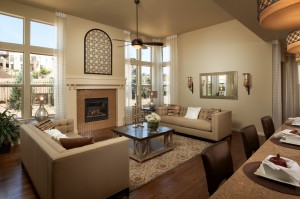 Ferrero - Elevation C Gallery - Ferrero Great Room  - 2,327 sqft, 3 Bedroom, 2.5 Bathroom - Cardel Homes Denver