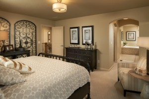 Ferrero - Elevation C Gallery - Ferrero Master Bedroom  - 2,327 sqft, 3 Bedroom, 2.5 Bathroom - Cardel Homes Denver
