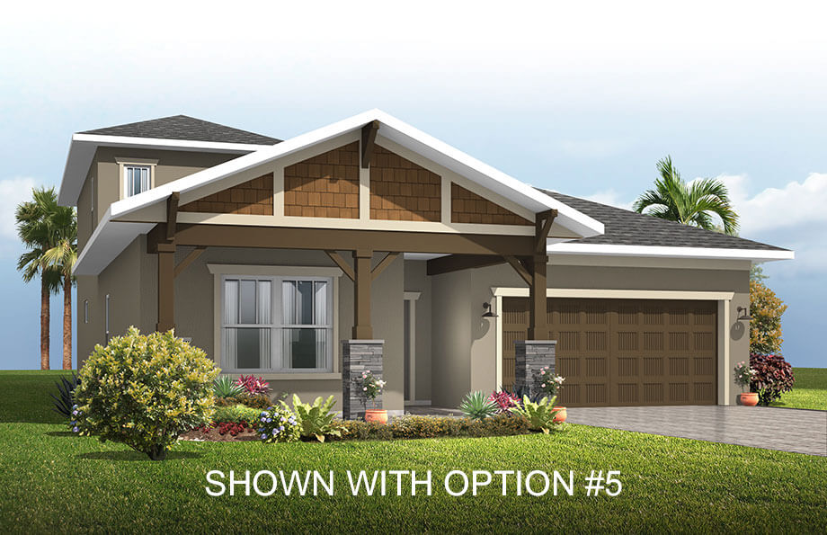 Cardel Homes Tampa Waterset Northwood 2 Option 5
