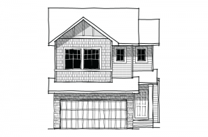 Essence - Craftsman B1 Elevation - 2,013 sqft, 3 Bedroom, 2.5 Bathroom - Cardel Homes Calgary