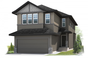 Essence - Craftsman Cottage B2 Elevation - 2,013 sqft, 3 Bedroom, 2.5 Bathroom - Cardel Homes Calgary