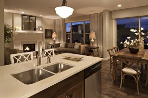 Tandem Bay - Fusion Modern F4 Gallery - 0798  - 2,143 sqft, 3 Bedroom, 2.5 Bathroom - Cardel Homes Calgary