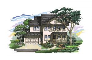 Gulfstream - Elevation A Elevation - 2,987 sqft, 3 Bedroom, 2.5 Bathroom - Cardel Homes Tampa