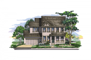 Gulfstream - Elevation B Elevation - 2,987 sqft, 3 Bedroom, 2.5 Bathroom - Cardel Homes Tampa