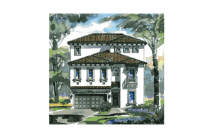 Beaumont - Elevation Elevation - 3,124 sqft, 4 Bedroom, 4 Bathroom - Cardel Homes Tampa