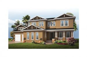 Wilshire 2 MB - Coastal Elevation - 3,638 - 4,260 sqft, 5 Bedroom, 4 Bathroom - Cardel Homes Tampa