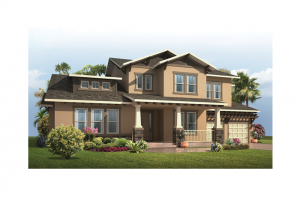 St. Regis - Craftsman Elevation - 3,484 - 3,833 sqft, 4 Bedroom, 2.5 Bathroom - Cardel Homes Tampa