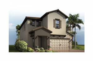 Palmetto 2 - Tuscan Elevation - 2,800 - 2,855  sqft, 4 - 6 Bedroom, 2.5 - 4.5 Bathroom - Cardel Homes Tampa