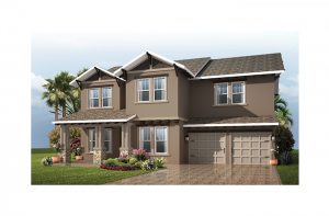 Nautilus Renderings - Craftsman Elevation - 2,680 - 3,196 sqft, 3 - 5 Bedroom, 2.5 - 4.5 Bathroom - Cardel Homes Tampa
