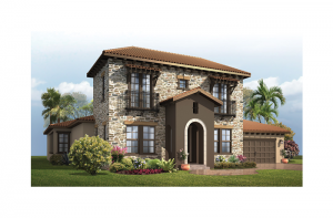 Waldorf - Tuscan Elevation - 3,661 - 3,672 sqft, 4 Bedroom, 3.5 Bathroom - Cardel Homes Tampa