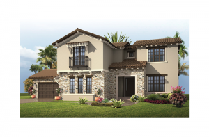 Carlton 2 - Tuscan Elevation - 3,515 - 3,780 sqft, 4 Bedroom, 3.5 Bathroom - Cardel Homes Tampa