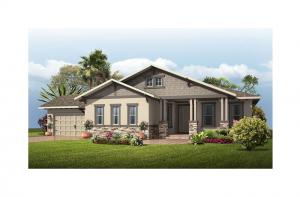 Carlton - Craftsman Elevation - 2,835 sqft, 3 Bedroom, 2.5 Bathroom - Cardel Homes Tampa
