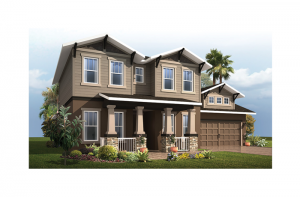 Avalon 2 Renderings - Craftsman Elevation - 2,753 - 3,350 sqft, 3 - 6 Bedroom, 2.5 - 4 Bathroom - Cardel Homes Tampa