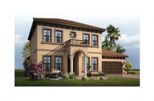 Avalon 2 Renderings - Italianate Elevation - 2,753 - 3,350 sqft, 3 - 6 Bedroom, 2.5 - 4 Bathroom - Cardel Homes Tampa