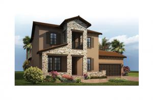 Avalon 2 Renderings - Tuscan Elevation - 2,753 - 3,350 sqft, 3 - 6 Bedroom, 2.5 - 4 Bathroom - Cardel Homes Tampa