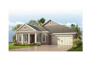 Avalon Renderings - Neo-Classical Elevation - 2,256 - 2,272 sqft, 3 - 4 Bedroom, 2.5 - 3 Bathroom - Cardel Homes Tampa