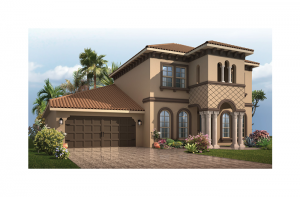 Endeavor 2 Renderings - Italianate Elevation - 2,848 - 3,453 sqft, 3 - 5 Bedroom, 2.5 - 4 Bathroom - Cardel Homes Tampa