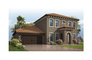 Endeavor 2 Renderings - Mizner Elevation - 2,848 - 3,453 sqft, 3 - 5 Bedroom, 2.5 - 4 Bathroom - Cardel Homes Tampa