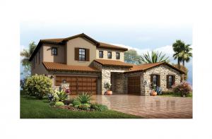 Palazzo - Tuscan Elevation - 3,730 - 3,788 sqft, 3 - 5 Bedroom, 3 - 4 Bathroom - Cardel Homes Tampa