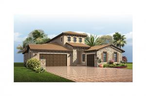 Palazzo Bella - Tuscan Elevation - 2,524 - 2,818 sqft, 1 - 4 Bedroom, 2 - 4 Bathroom - Cardel Homes Tampa
