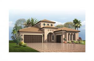 Palazzo Bella - Mizner Elevation - 2,524 - 2,818 sqft, 1 - 4 Bedroom, 2 - 4 Bathroom - Cardel Homes Tampa