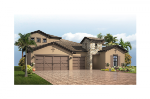 Endeavor 3 - Tuscan with Option #5 Elevation - 2,500 - 3,108 sqft, 4 - 5 Bedroom, 3 - 4 Bathroom - Cardel Homes Tampa