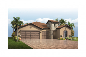 Endeavor 3 FHR - Tuscan Elevation - 2,500 - 3,108 sqft, 4 - 5 Bedroom, 3 - 4 Bathroom - Cardel Homes Tampa