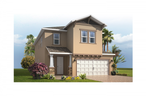 Palmetto 2 - Craftsman Elevation - 2,800 - 2,855  sqft, 4 - 6 Bedroom, 2.5 - 4.5 Bathroom - Cardel Homes Tampa