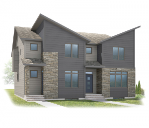 Tresco - Tresco C Elevation - 1,856 sqft, 3 Bedroom, 2.5 Bathroom - Cardel Homes Calgary