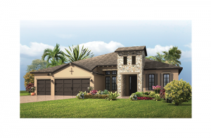 St. Lucia - Tuscan Elevation - 3,336 sqft, 4 - 5 Bedroom, 3 Bathroom - Cardel Homes Tampa